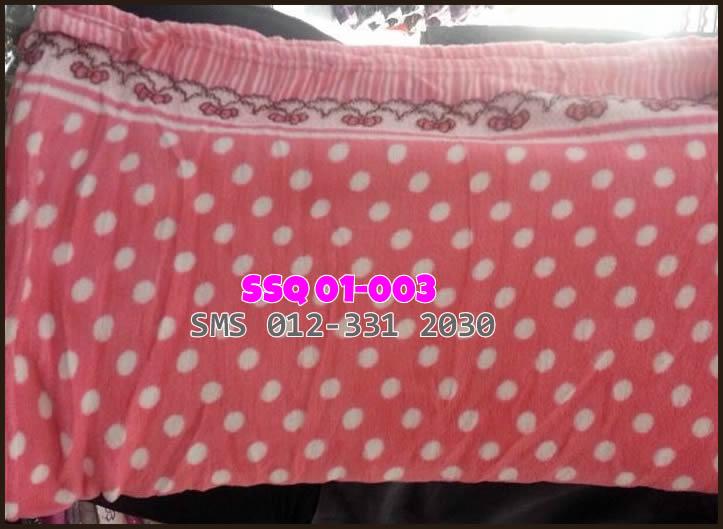 selimut baldu queen SSQ 01-003