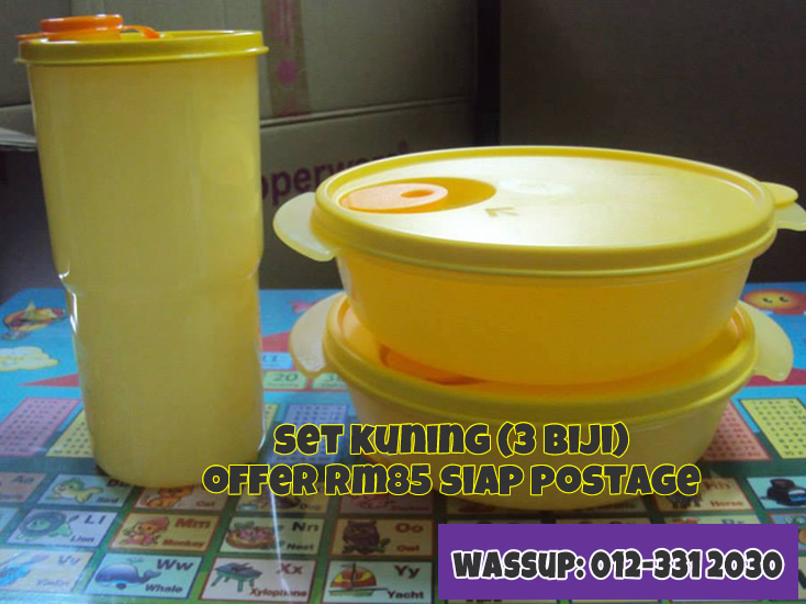Offer Tupperware Ogos 10 Kedai Cadar Patchwork