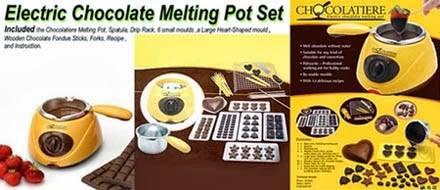 CHOCOLATE MELTING POT 3