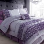 set cadar pengantin rose purple