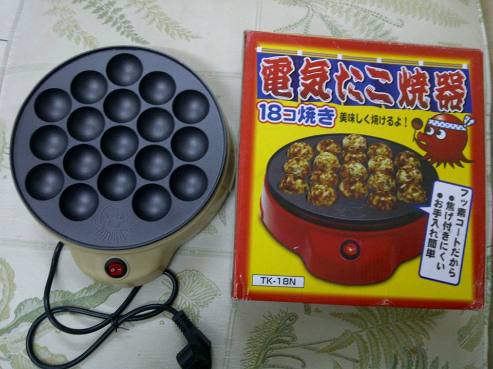 TAKOYAKI GRILL PAN 1