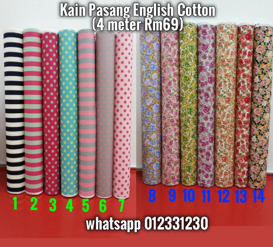 kain pasang english cotton rm69 4m