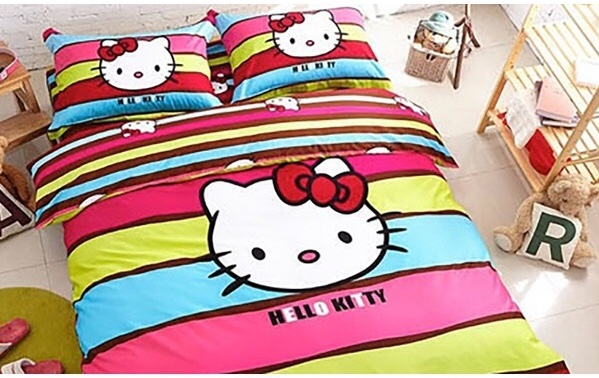 CADAR HELLO KITTY KING QUEEN rainbow