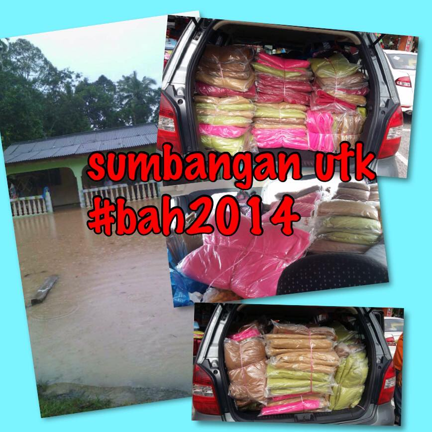 sumbangan banjir 2014 dicari