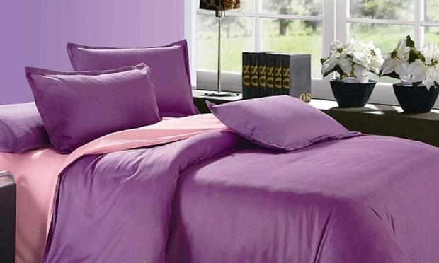 Plum-Pink BEDSHEET