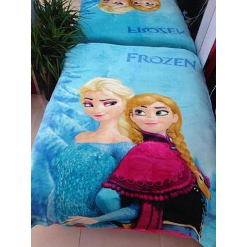 SOFT 3D CARTOON BLANKET - FROZEN