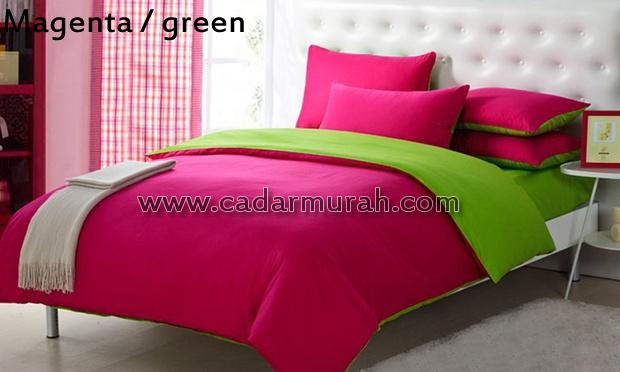 cadar Magenta green