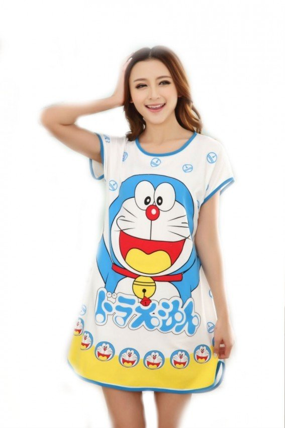 Cartoon Nightdress doraemon