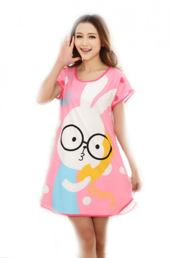 Cartoon Nightdress rabbit 1