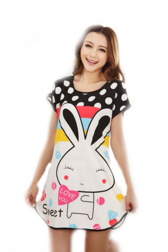 Cartoon Nightdress rabbit 2