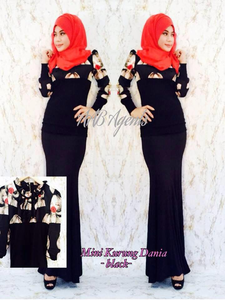 MINI KURUNG DANIA black