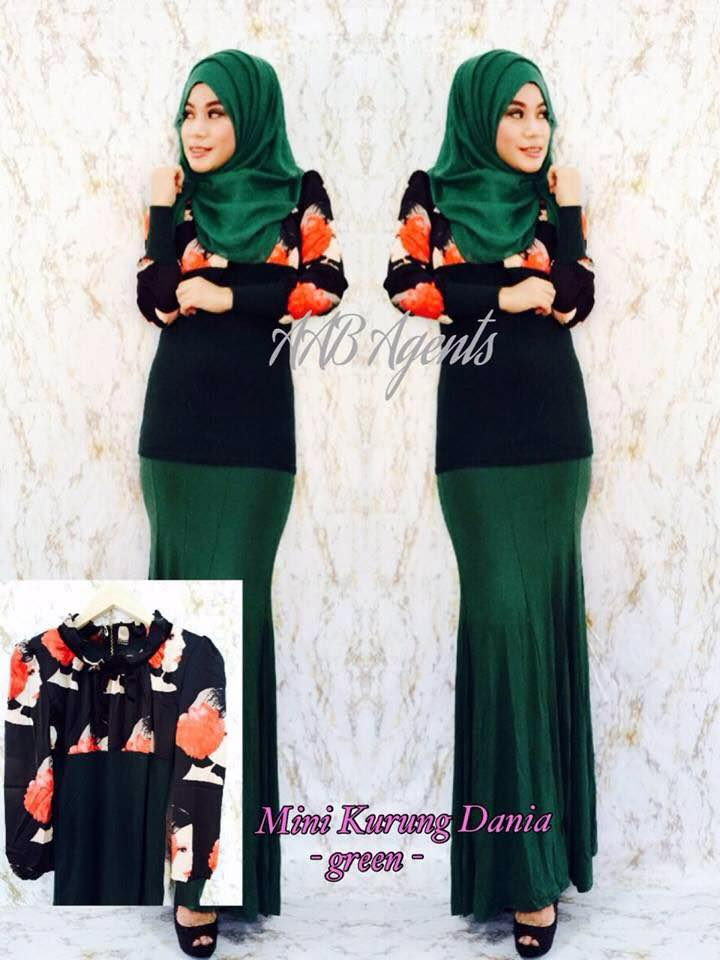 MINI KURUNG DANIA green