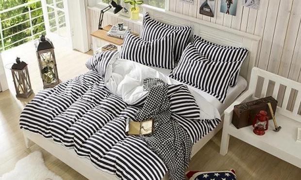 cadar striped black