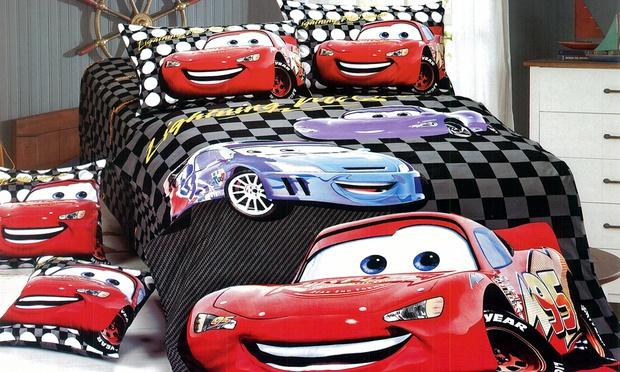 set single kartun cars black