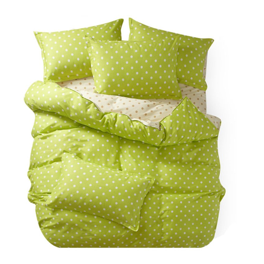 polkadot queen green cream