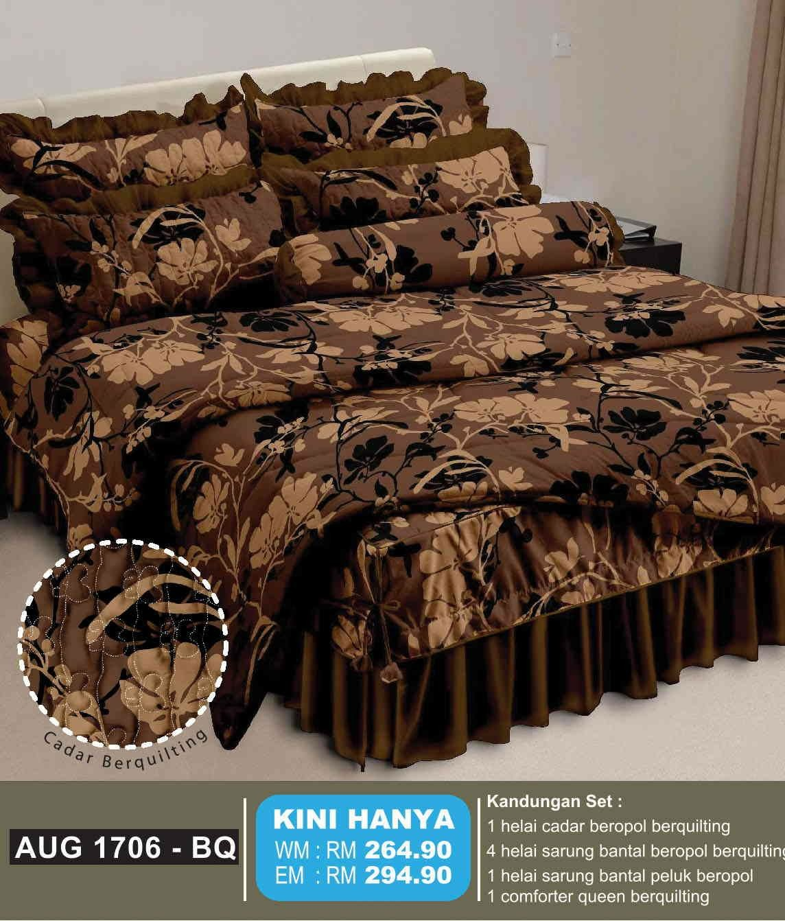Cadar quilt patchwork murah jakarta