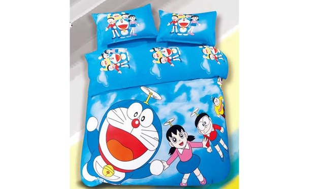 Doraemon bedsheet 1