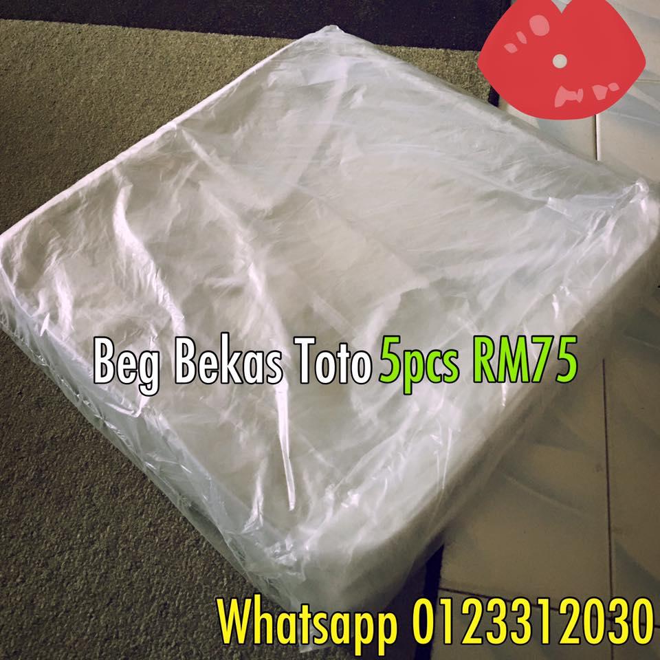 beg toto plastik bag