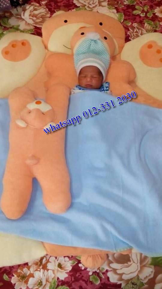 Tilam Baby Cute Bear Kedai Cadar Patchwork
