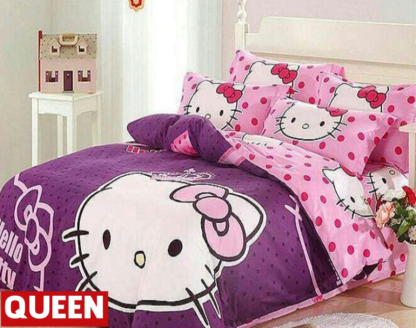 Pre 0rder Cadar Cartoon Bedsheets Hello Kitty